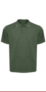 CAMISA POLO VERDE MASCULINA